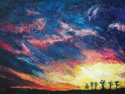 Nature Painting - Sunrise