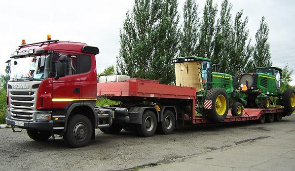 Сельхоз техника 15 перевозка тракторов н