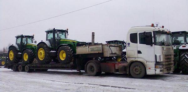 Сельхоз техника 11 перевозка тракторов.j