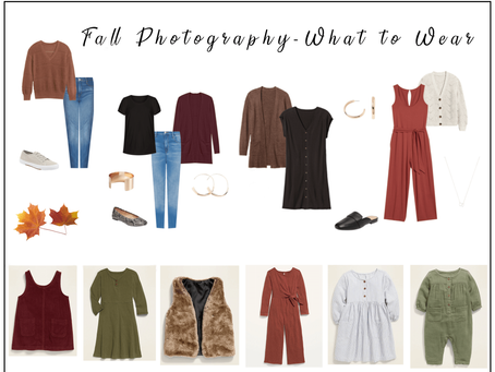 Fall Photography - What to Wear