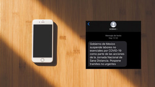 メキシコ政府、SMSでの新型コロナウイルスの情報提供の開始