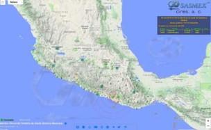 メキシコと日本の地震警報