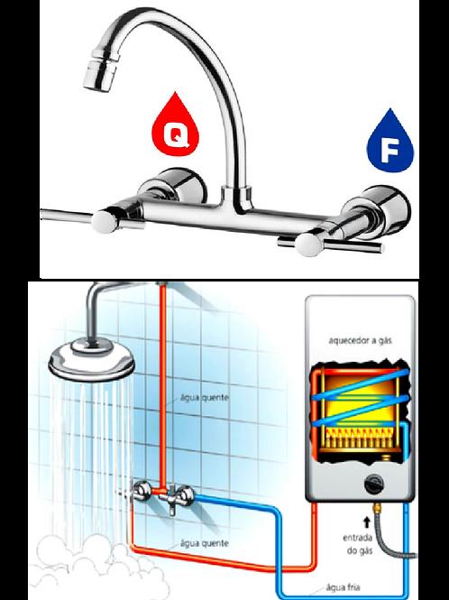Aquecedor de água à gás como fazer a instalação?