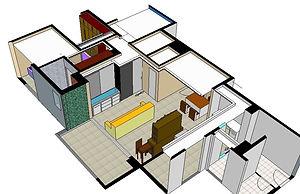 Projeto simplificado de reforma - ZIP Engenharia