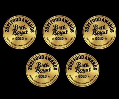 5 Bars Gold Award