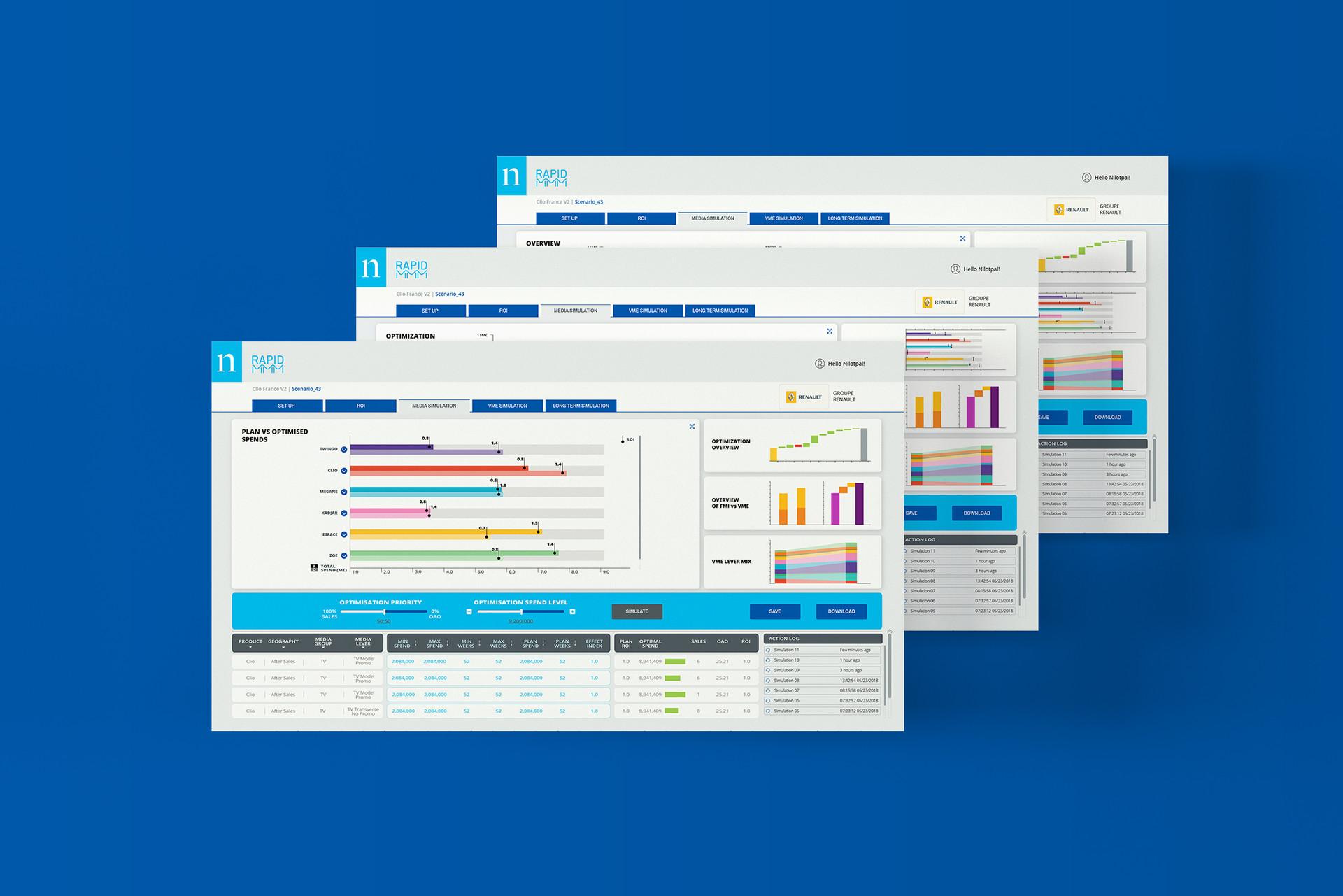 Dash board Screens 01