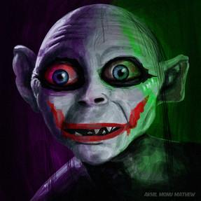 Alter ego of joker- Digital painting