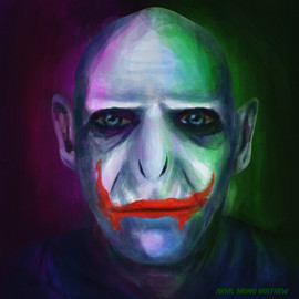Alter ego of joker- Digital painting