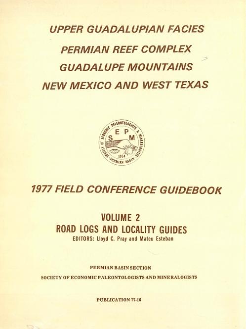 Guadalupian Facies, Apache Mountain Area, West Texas