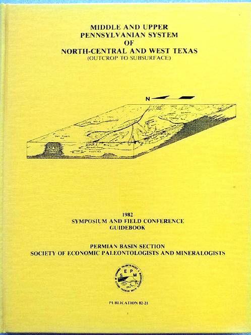 Middle & Upper Pennsylvanian System of North-Central and West Texas