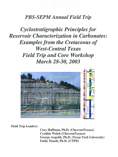 Cyclostratigraphic Principles for Reservoir Characterization in Carbonates