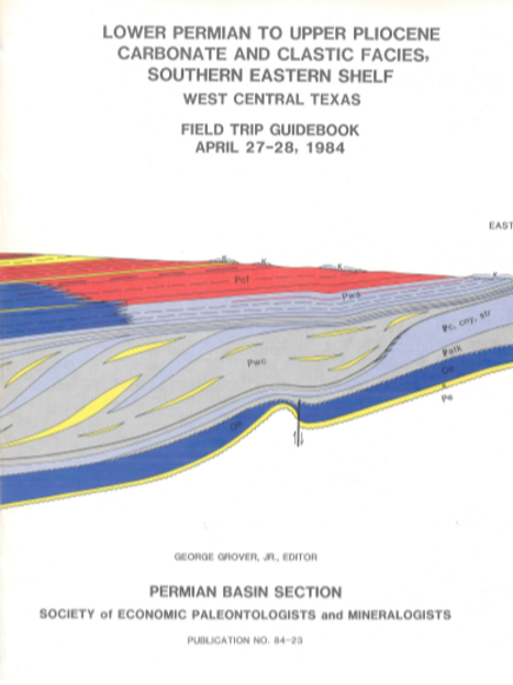 Lower Permian to Upper Pliocene Carbonate and Clastic Facies, Southern Eastern