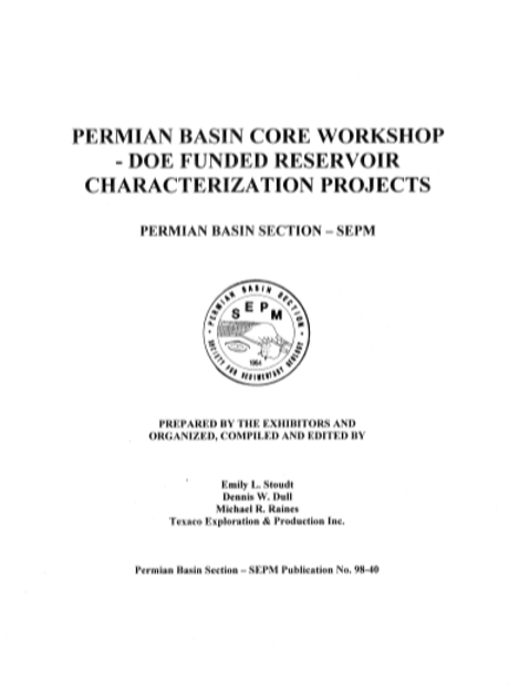 Permian Basin Core Workshop - DOE Funded Reservoir Characterization Projects