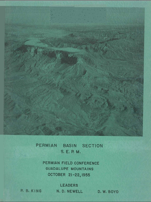Permian Field Conference Guadalupe Mountains October 21-22, 1955