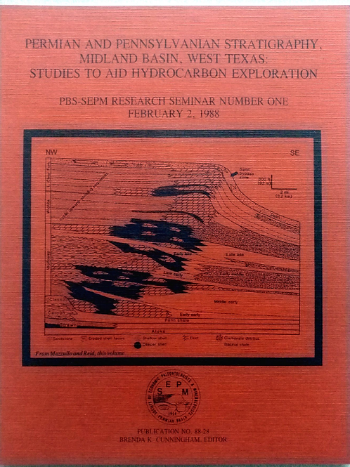 Permian & Pennsylvanian Stratigraphy, Midland Basin, West Texas: Studies to Aid.
