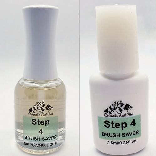Brush Saver - Step 4