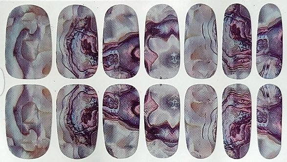 Stone & Burgundy Marble