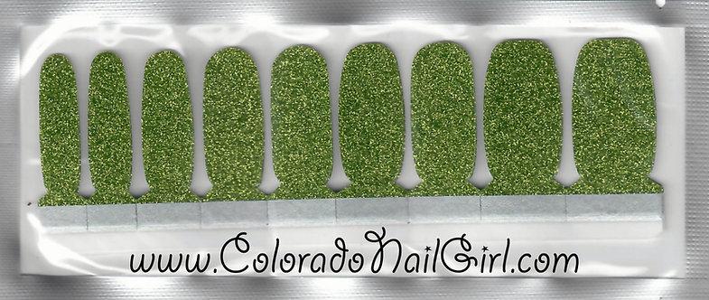 Olive Green Glitter