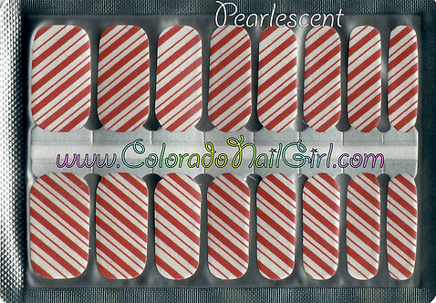 Pearlescent Candy Cane Stripes