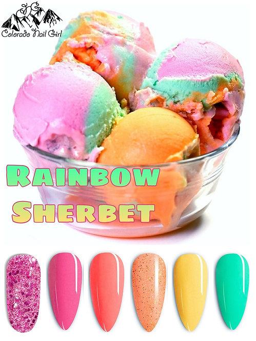 Rainbow Sherbet Dip Powder Set