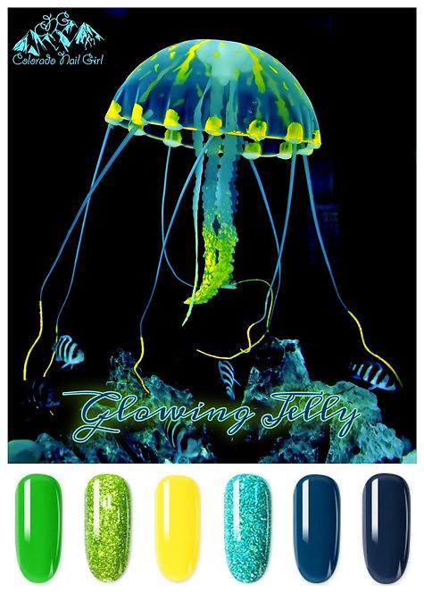 Glowing Jelly Dip Powders
