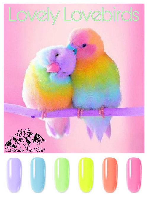 Lovely Lovebirds Dip Powders