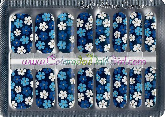 Fun Blue Floral
