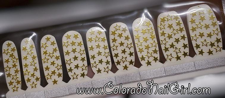 Metallic Golden Starlight