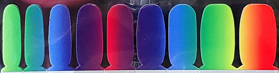 Ombre Satin Rainbow