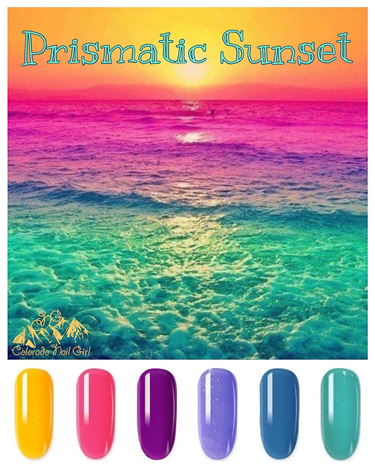 Prismatic Sunset Dip Powder Set