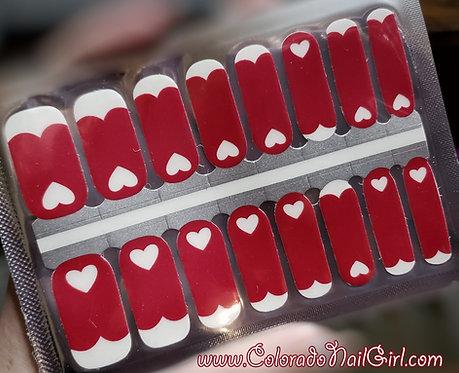 Reverse Valentine Hearts