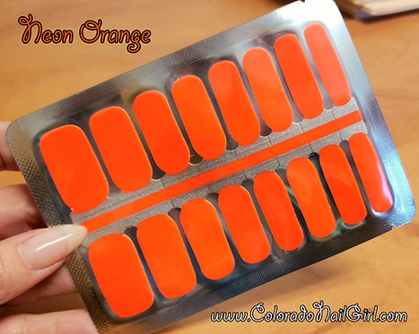 Solid Neon Orange