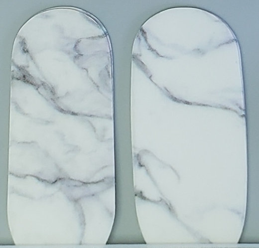 White/Grey Marble - Accents