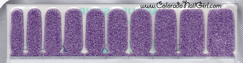 Deep Lavender Glitter