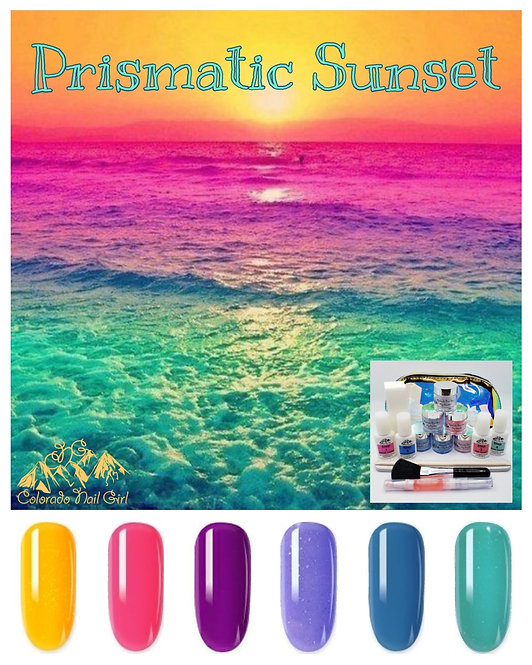Prismatic Sunset Dip Starter Kit