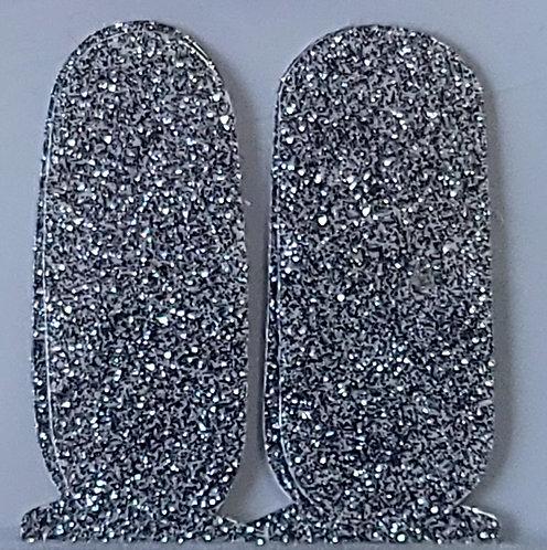 Dark Silver Glitter - Accents