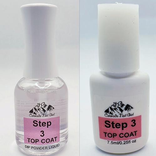 Top Coat - Step 3