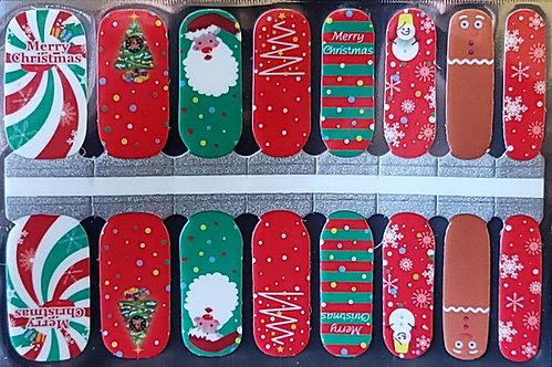 Gingerbread Man & Santa