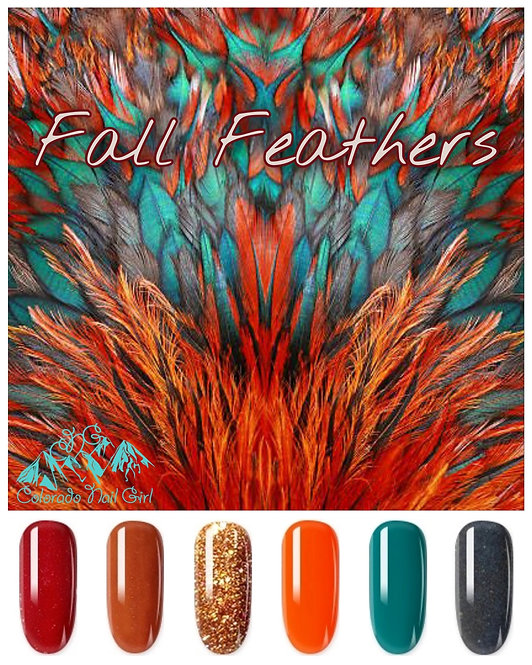 Fall Feathers Dip Powder Set