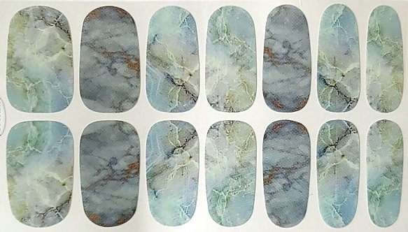 Teal & Blue Marble