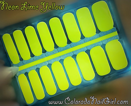 Solid Neon Lime Yellow