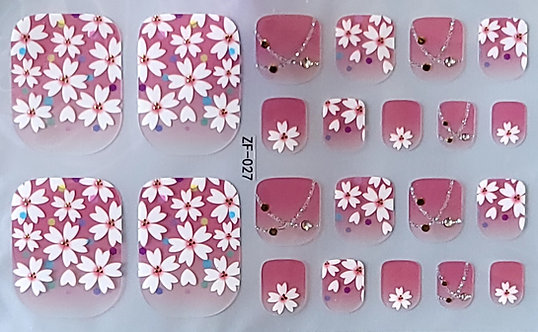 Dainty Floral - Toes