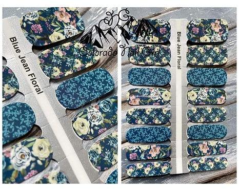 Blue Jean Floral