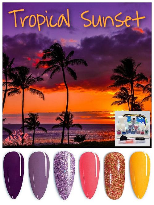 Tropical Sunset Dip Starter Kit