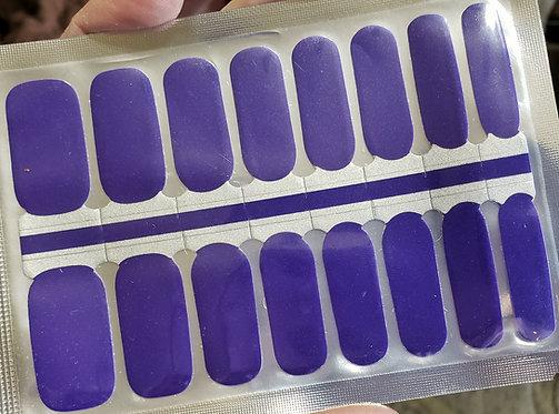 Vibrant Solid Blue/Purple