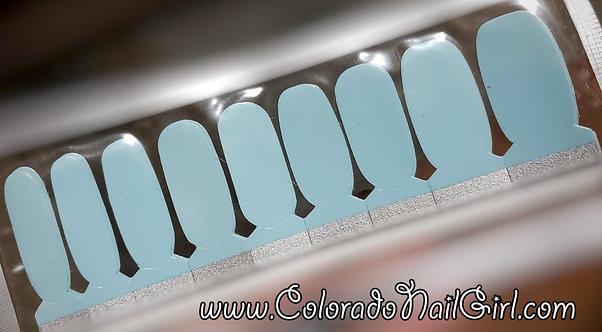 Earthtone Pastel Blue