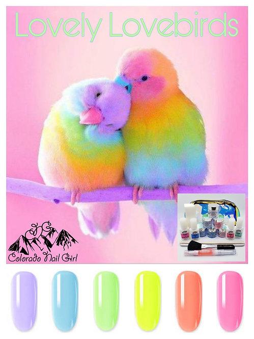 Lovely Lovebirds Dip Starter Kit