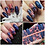 Thumbnail: Fabric Floral On Navy 2