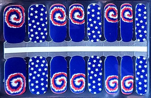 4th of July Tie Dye