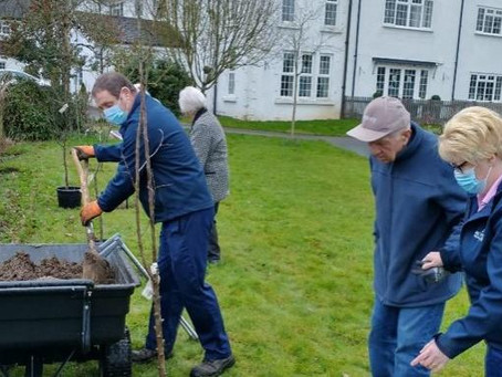 Residents at White Lodge Feature on Countryfile's Plant Britain Campaign